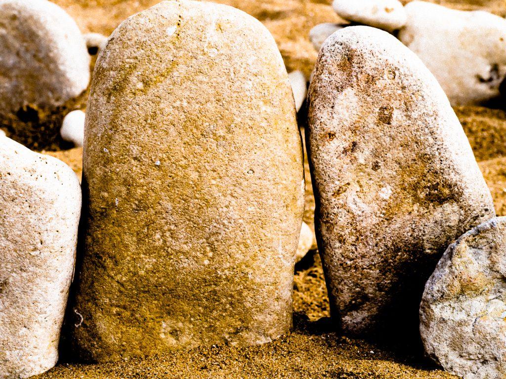 einzigartig: zwei Steine als Paar