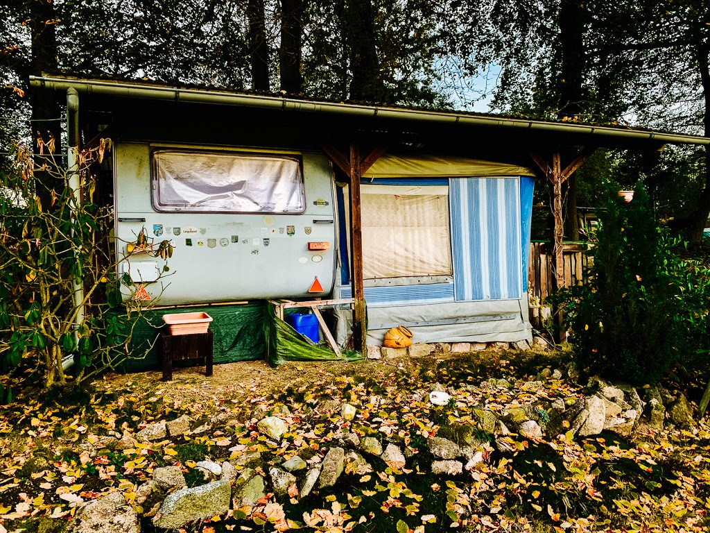 Die Liebe schützen - Camping