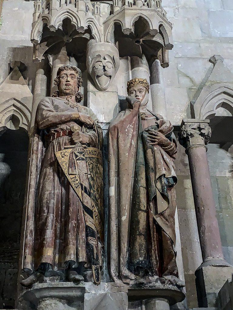 Stifterfiguren Ekkehard II. und Uta von Naumburg